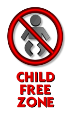 childfree zone