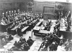 Nürnberger Prozess, Verhandlungssaal