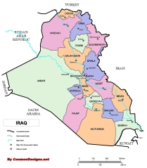Iraq_provinces_map