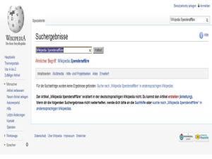 Wikipedia Spendenaffaere