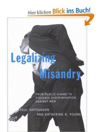 Legalizing misandry