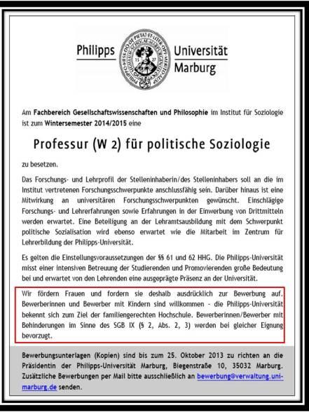 Philipps Uni Marburg