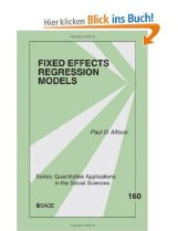 Fix effect regression models