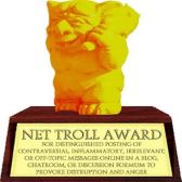 Golden-Internet-Troll-Award