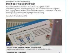 Klaus und Peter wollen heiraten