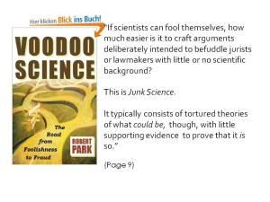 Park Junk Science