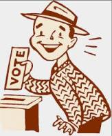 the happy voter