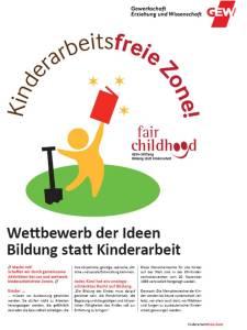 GEW Kinderarbeitspropaganda
