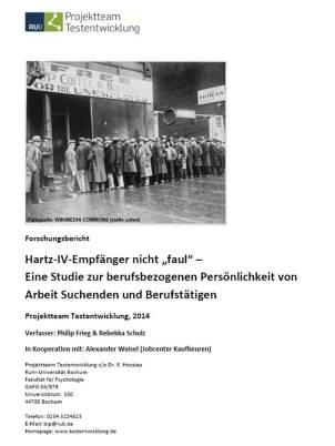 Hartz IV nicht faul