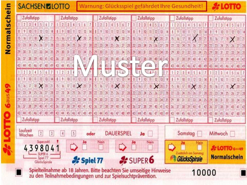 Lottoschein Drucken Kostenlos