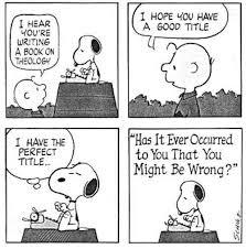 Peanuts theologz