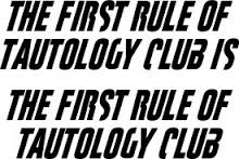 Tautology club