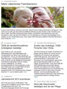 WZB Presse