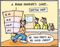 Binge Drinkers limit