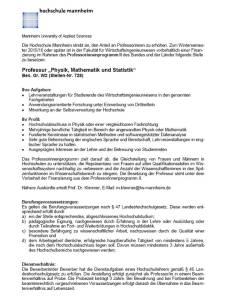 Hochschule mannheim Betrug 1