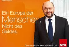 Europawahl SPD Plakat