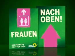 Gruene Wahlplakate