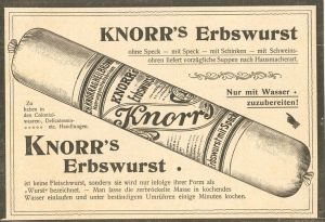 Knorr Erbswurst