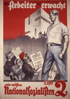 NSDAP Wahlplakat