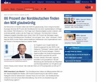 NDR glaubwuerdigkeit