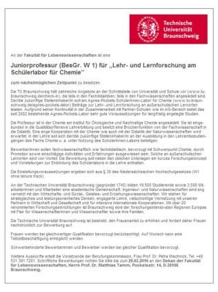 TU-Braunschweig Minderbemittelte