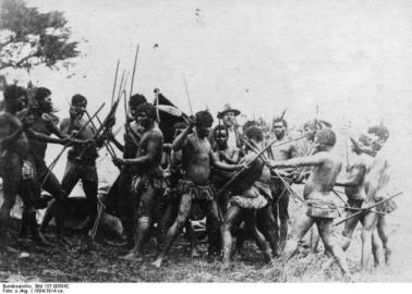 Südwestafrika, Eingeborene
