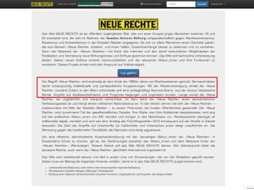 Neue Rechte Wiki