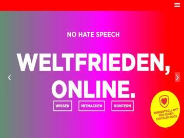NoHateFrieden